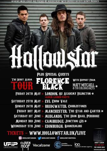 Hollowstar 2019 Tour Dates