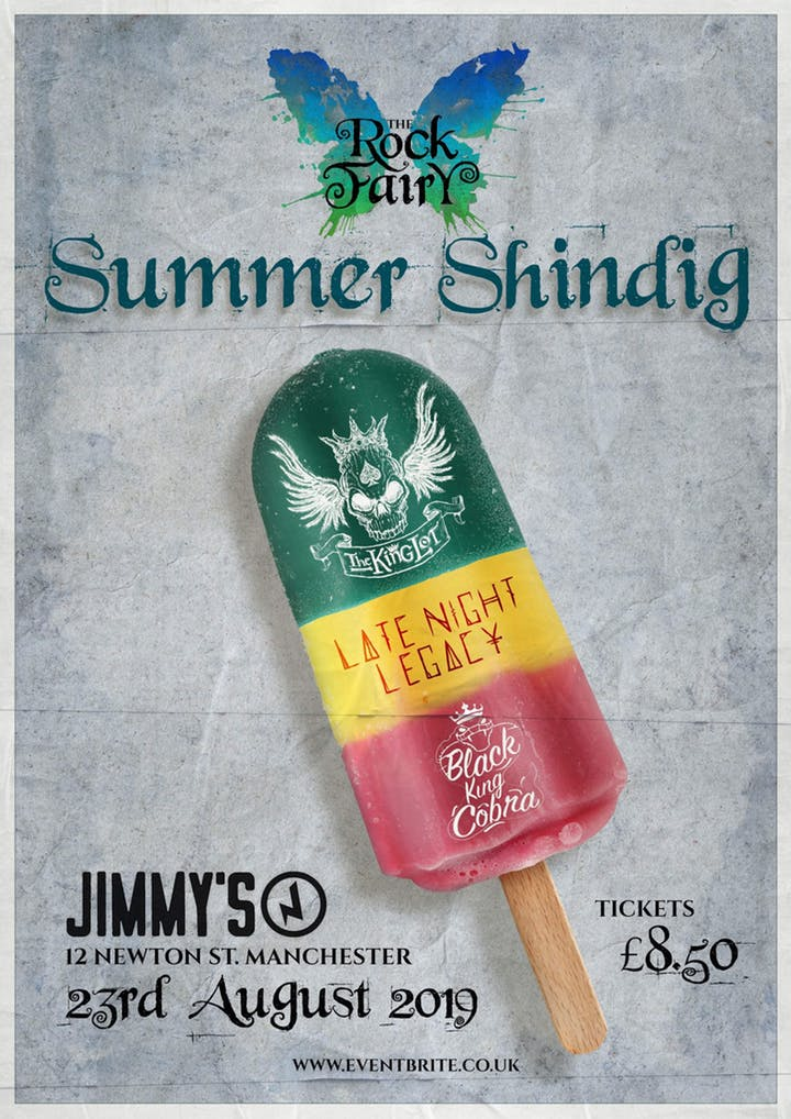 The Rock Fairy's Summer Shindig 23rd August 2019