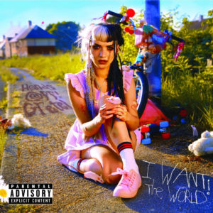 Album cover for I Want The World by Hands Off Gretel